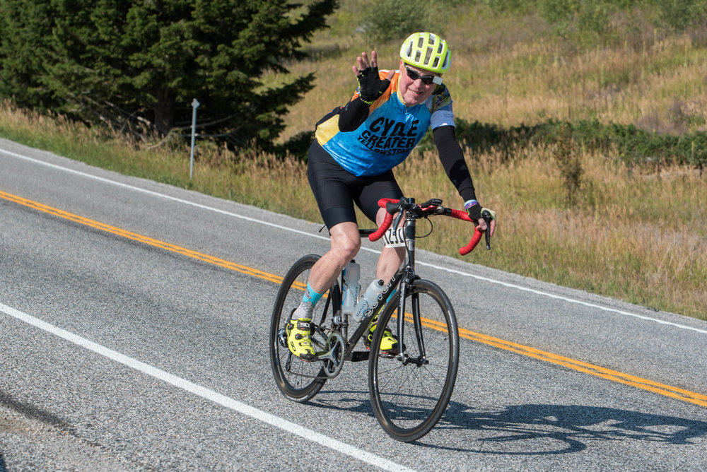 If you'll be riding all day or through a variety of terrain, layering is important.  Cycle Greater Yellowstone