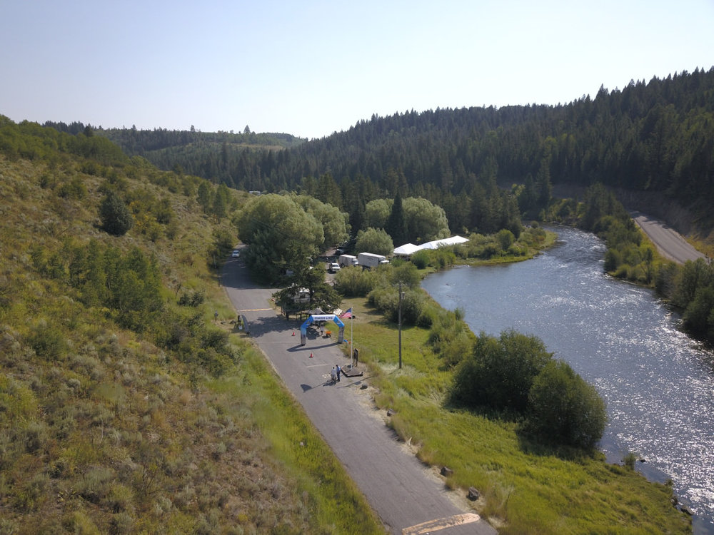 There are very few towns on the course, so you'll spend a lot of time surrounded by nothing but nature. Cycle Greater Yellowstone
