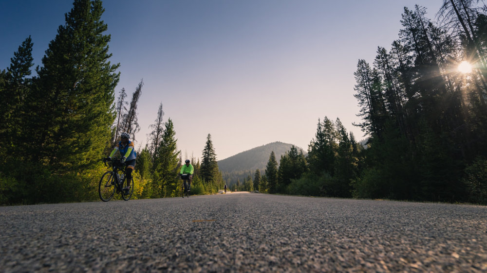 The Greater Yellowstone Coalition strives to show off the beauty of the region with each ride.  Cycle Greater Yellowstone