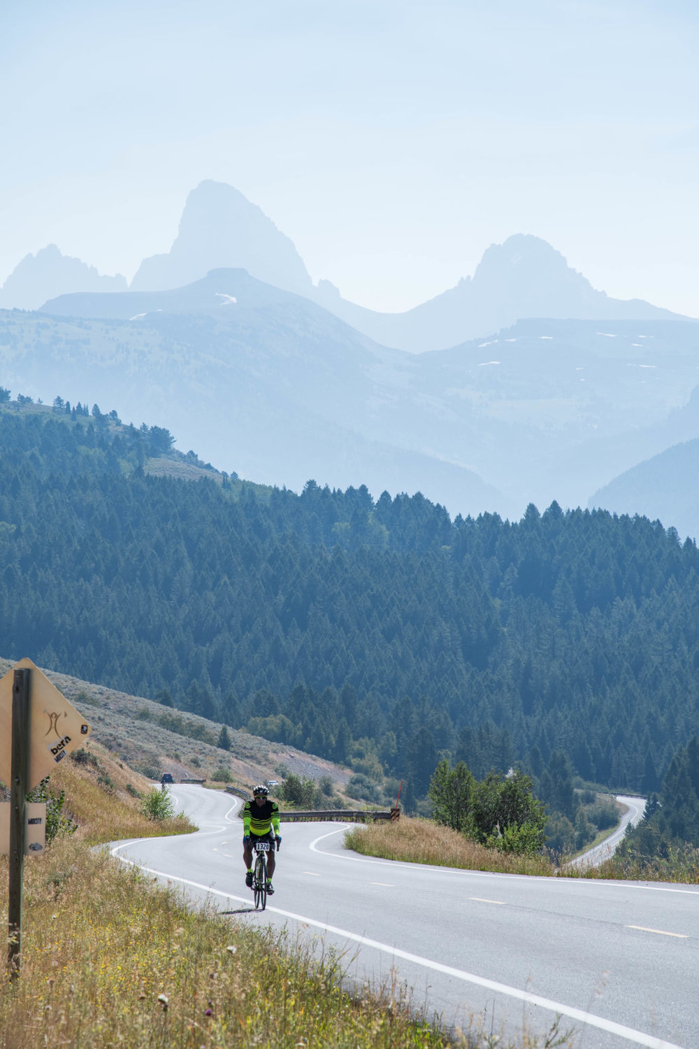It's a ride, not a race, so take your time and enjoy the scenery.  Cycle Greater Yellowstone