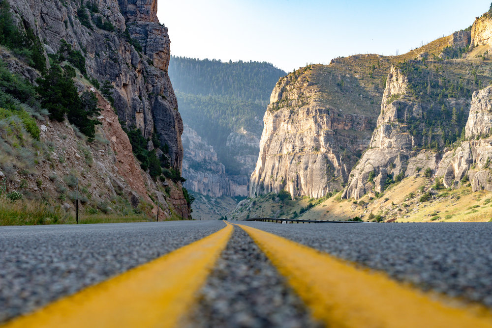 There are very few towns along the route, so you'll spend most of your time riding in natural settings. Nickolas Olson Photography for Cycle Greater Yellowstone