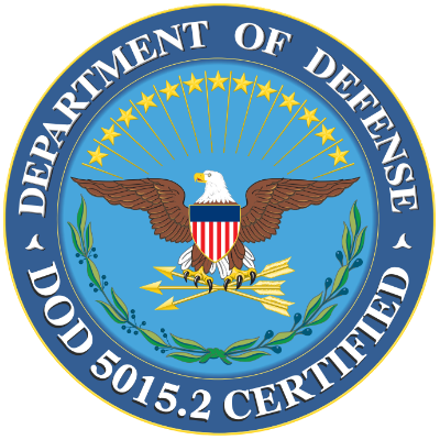 DoD 5015.2 Certified Records Software