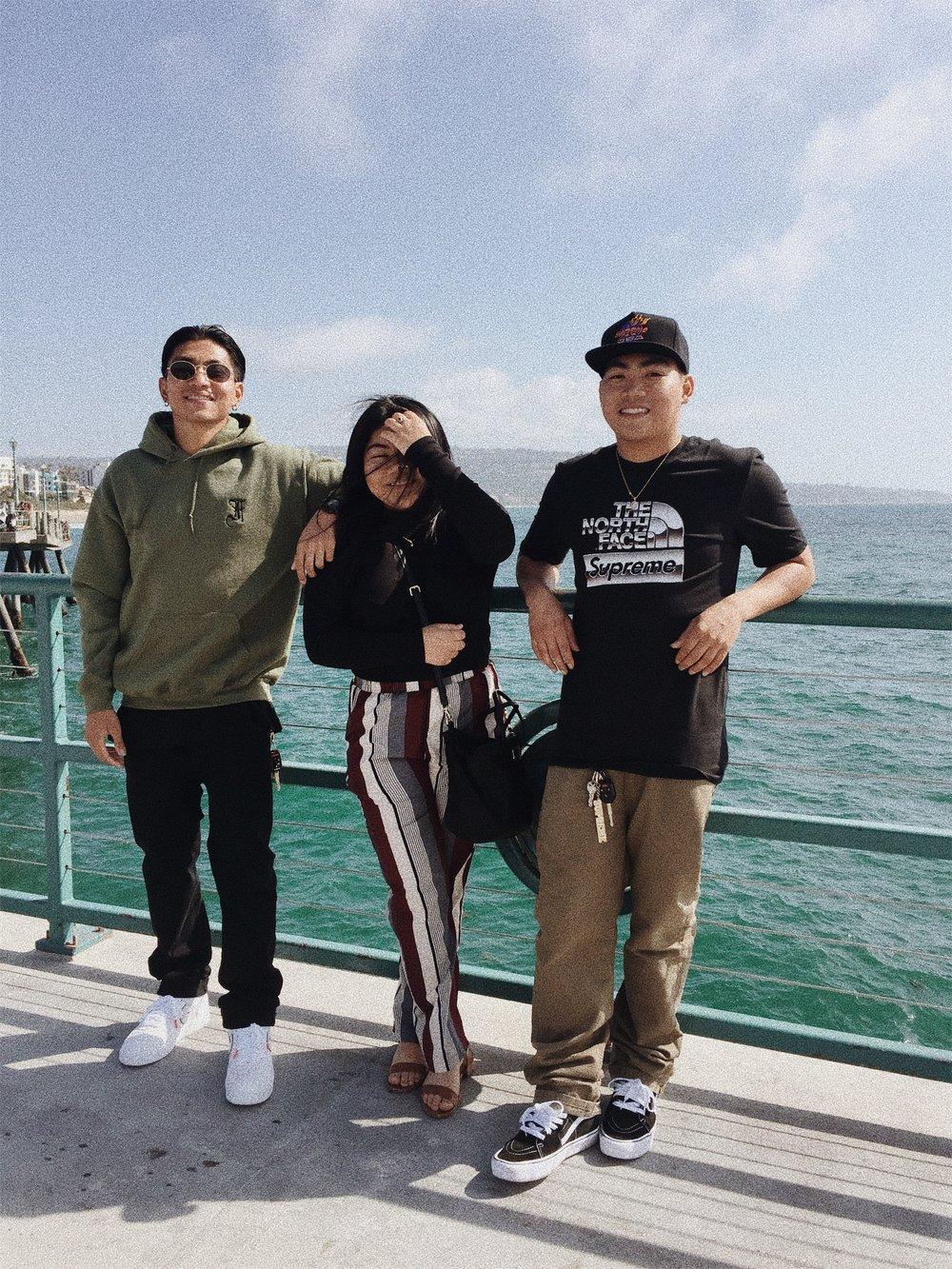 Location: Redondo Beach Boardwalk Pier, CA