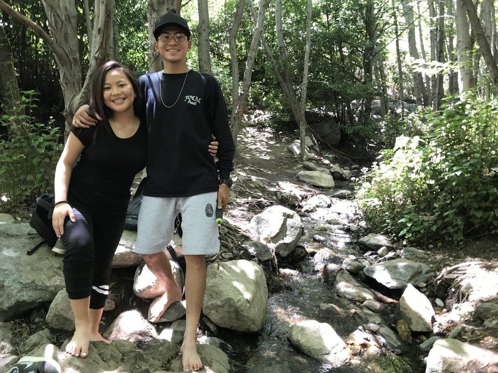 LOCATION: Etiwanda Falls