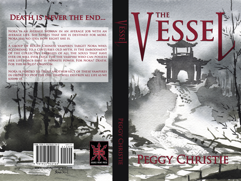 The Vessel - Cover design and layout