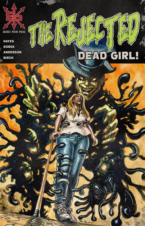 The Rejected: Dead Girl - Cover design and layout