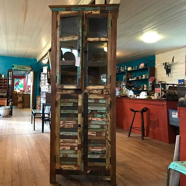 New Distressed Cabinet. Call for details 979-877-8344 #distressedfurniture  #vintagelook  #rusticdecor