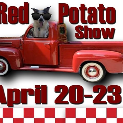 Come see us at the Red Potato Show in Simonton, April 20-23!