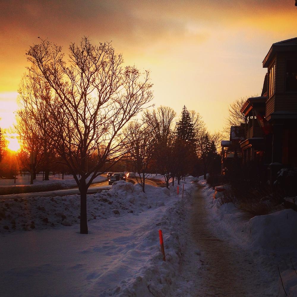 Glebe-Sunrise
