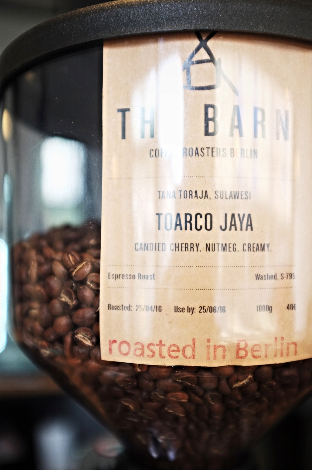 The Holy Cross Brewing Society serves The Barn Espresso. Roasted in Berlin