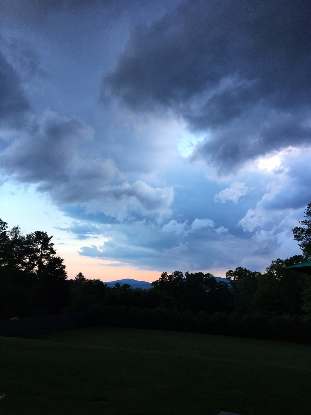 Classic Berkshires. You never know when a rain storm will roll in!