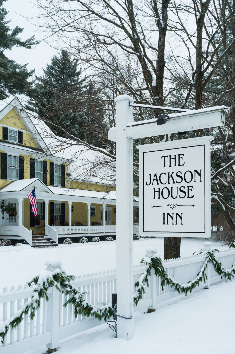Jackson House Inn in Woodstock, Vermont