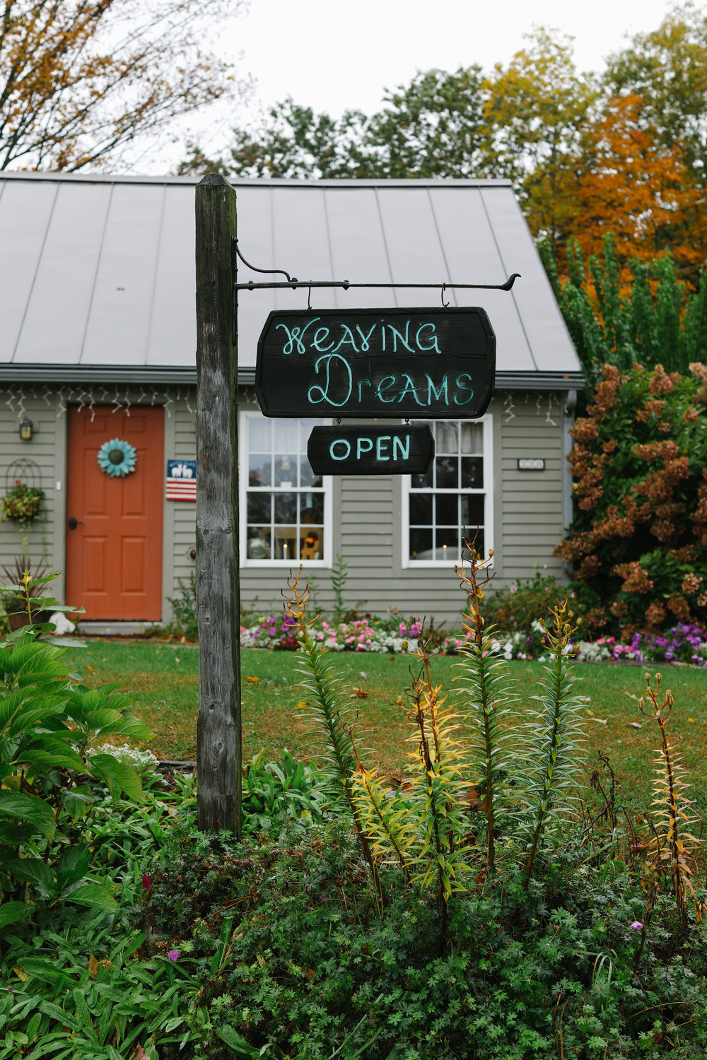 Weaving Dreams Airnbnb in Hartland, VT.