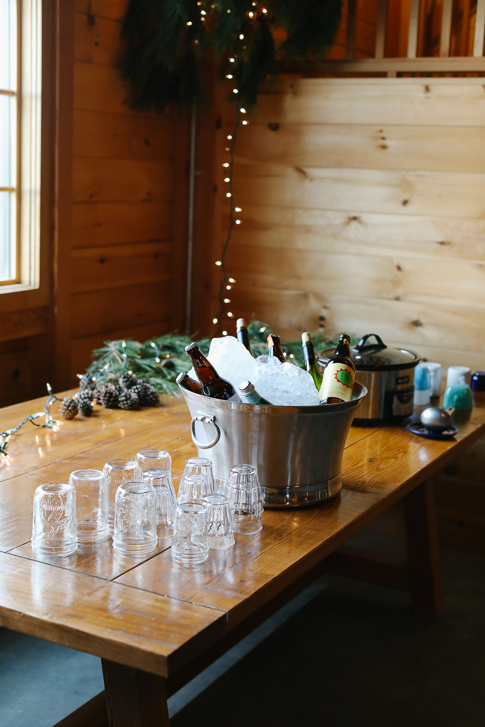 Hot cider and other festive drinks