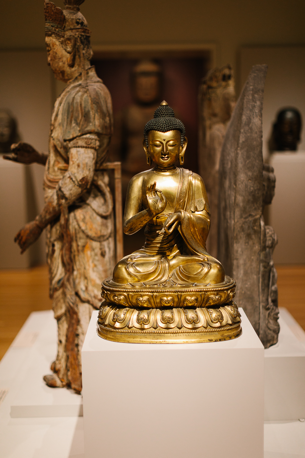 This Buddha at the RISD Museum calmed me immediately