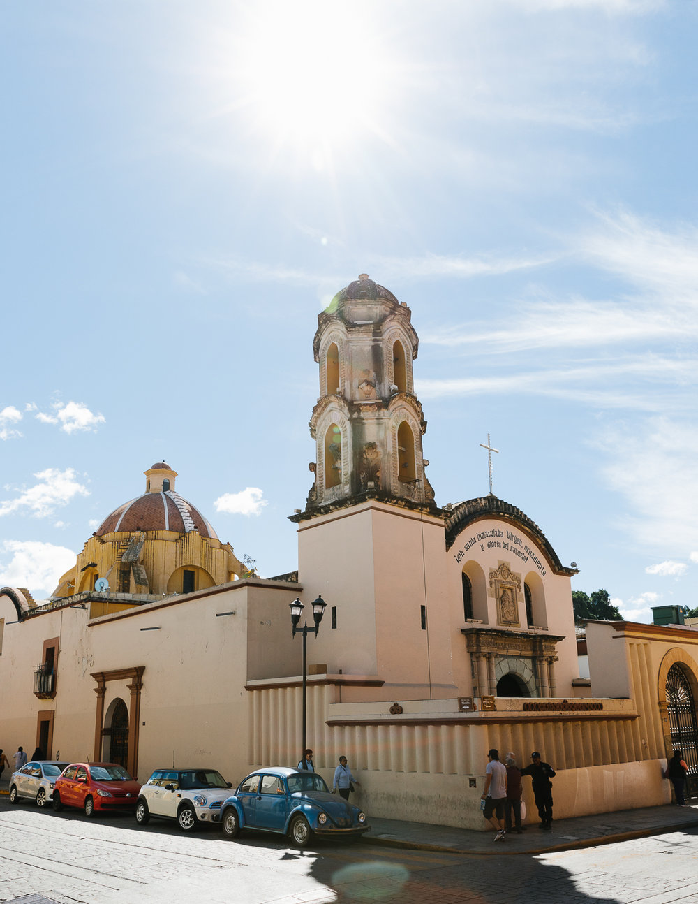 Oaxaca City Streets.