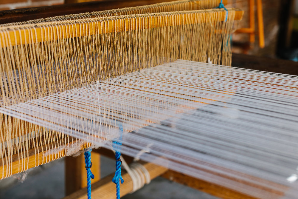 A loom in Teotitlan del Valle.