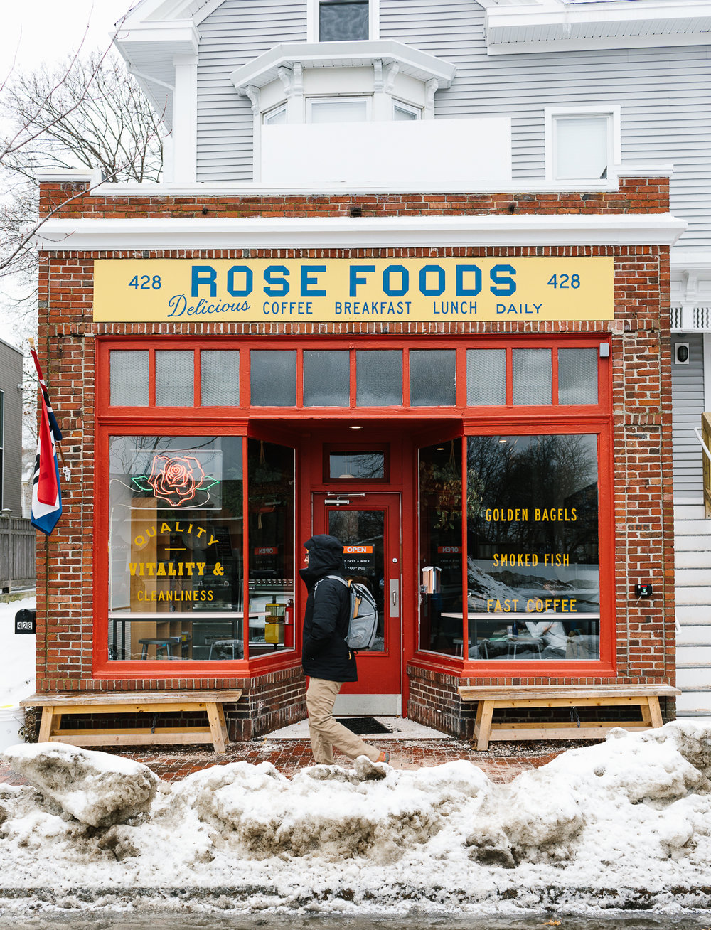 Rose Foods in Portland, Maine.