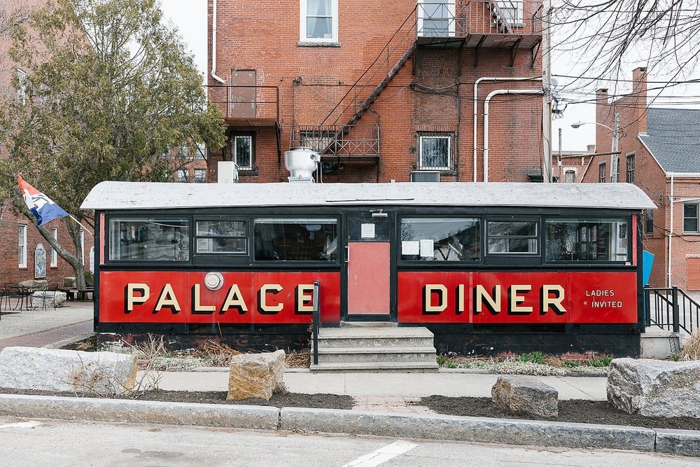 Palace Diner is so cute
