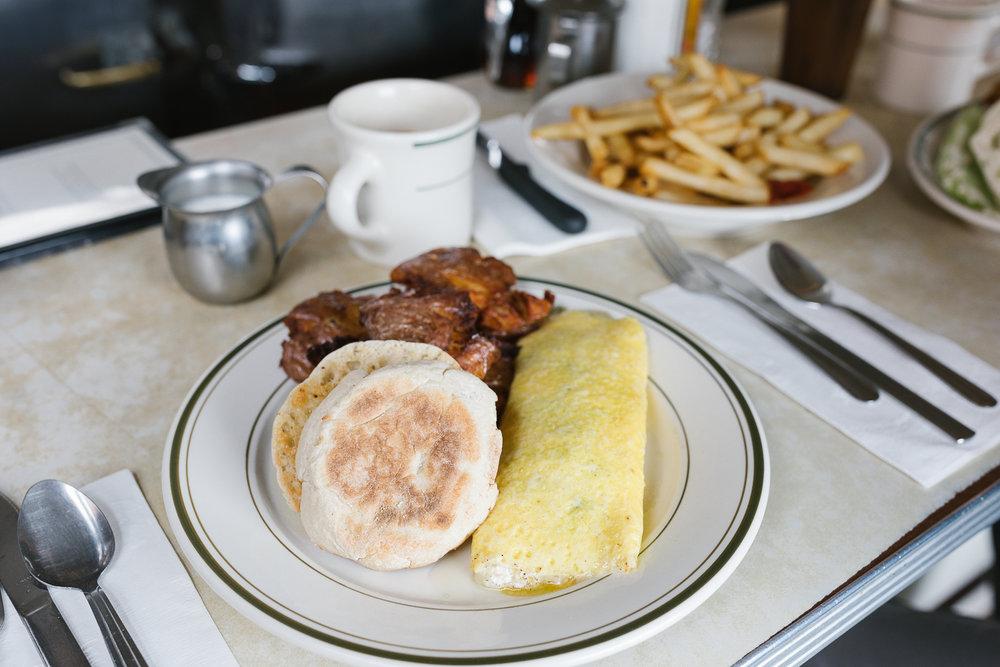 The omelet du jour