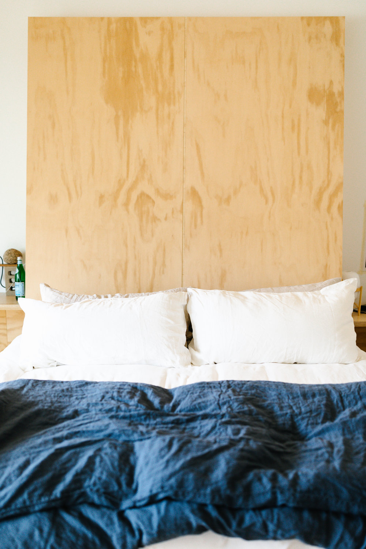 The coziest  Casper  mattress and all the linen bedding.