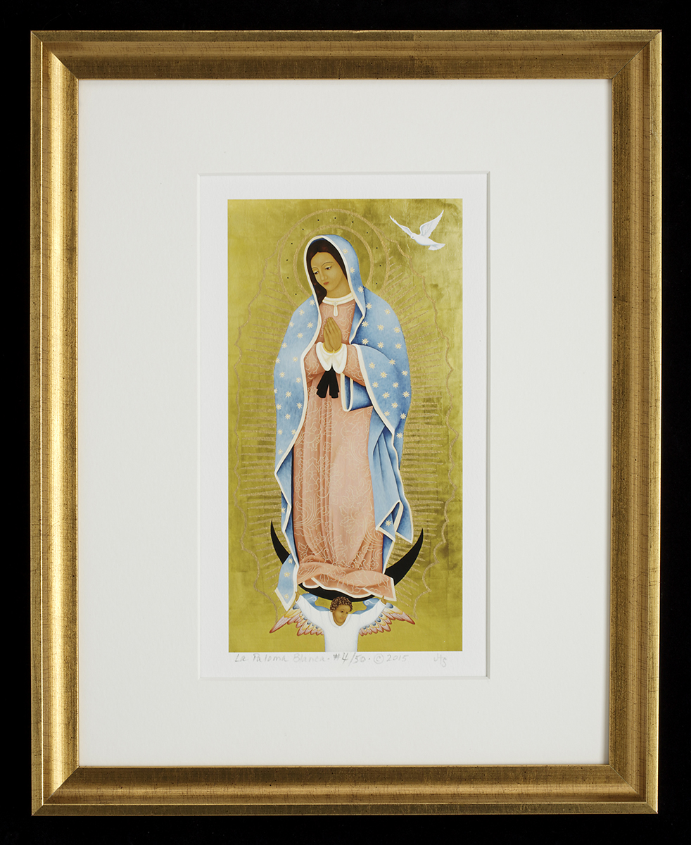 La Paloma Blanca framed print