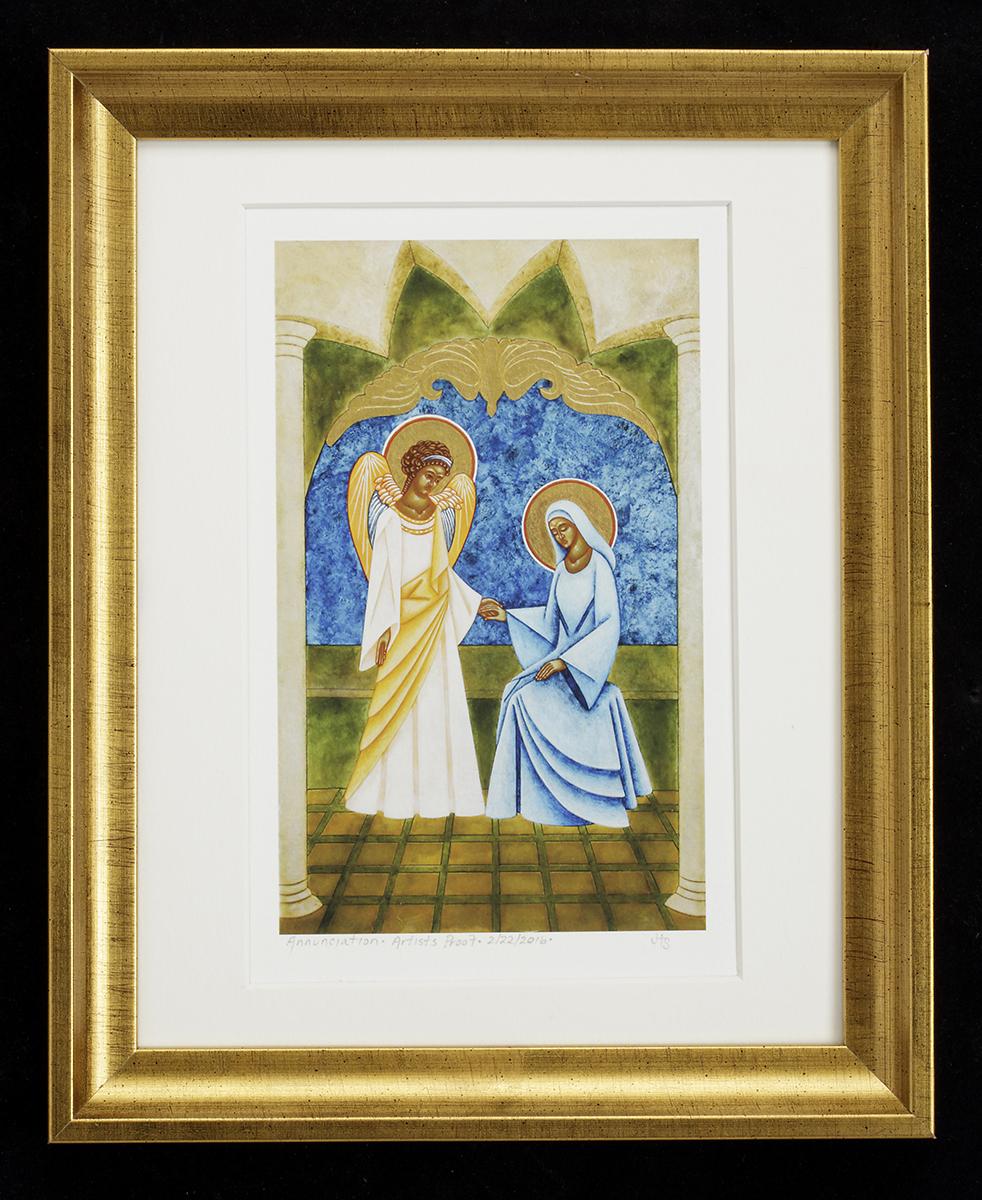 Annunciation print