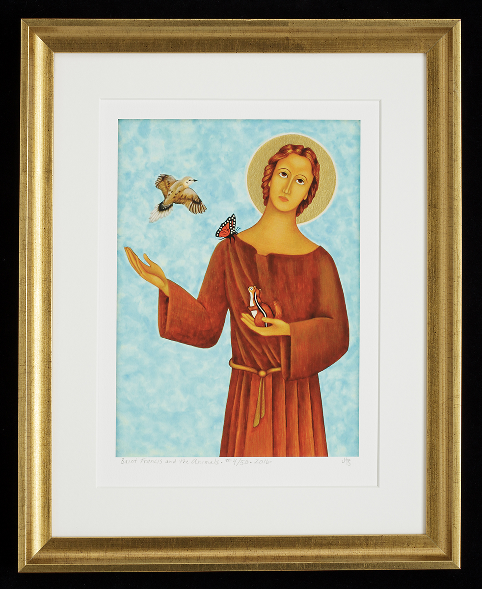 St. Francis and the Animals print