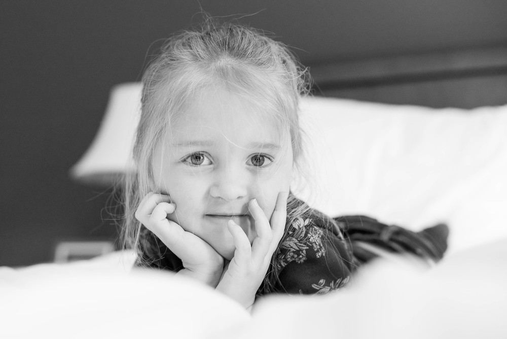 Ava just LOVED being a model for a few photos!