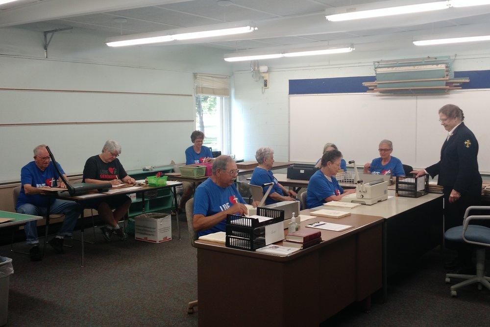 Large Print Bible Production