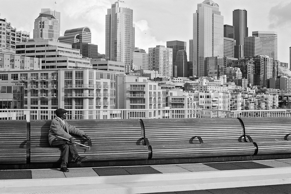 Seattle, Washington © 2009.  Image: Leica M3 + Leitz Summicron 1:2/5cm.