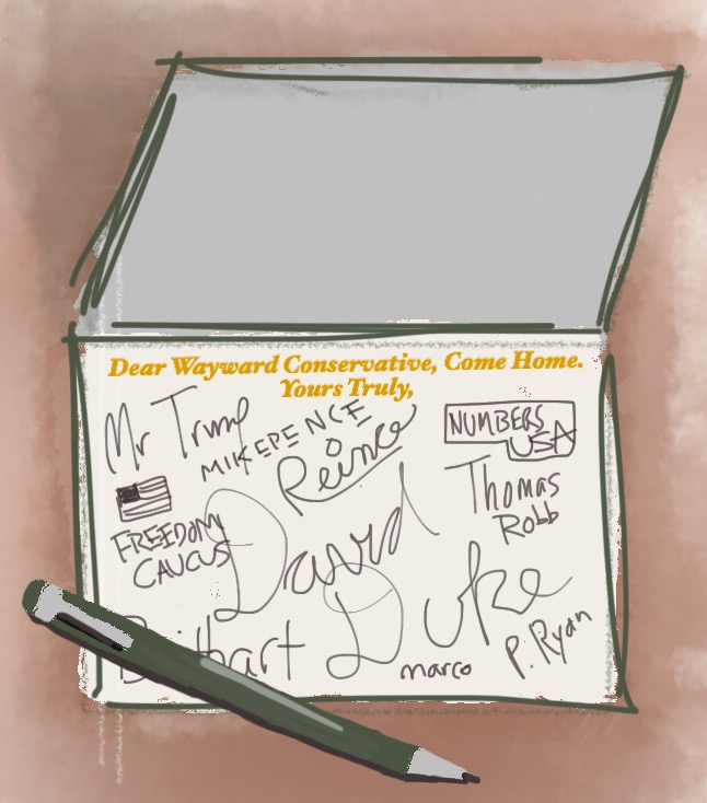 "Political cartoon ""Yours Truly"" by Charlie Shifflett"