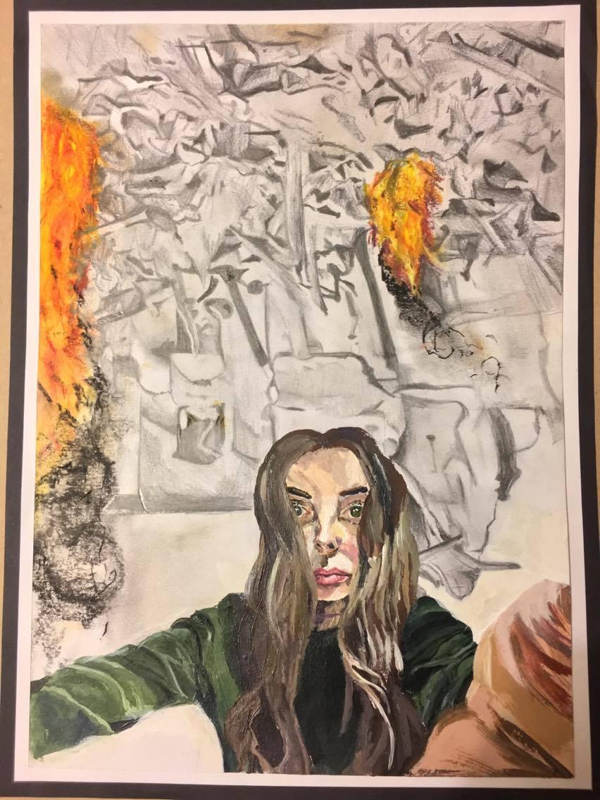 Fiona Tuckett, Our Cruel World, painting 1.jpg