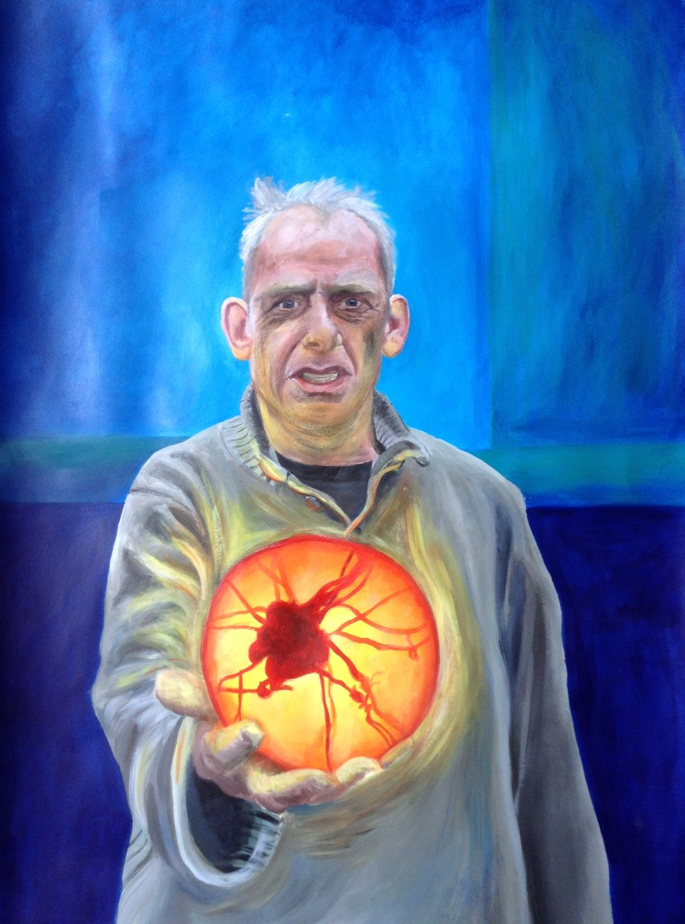 Mhairi McPhail, Dad's Tumour, painting, 2.jpeg
