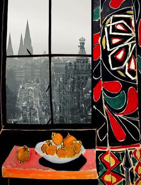 Tosia Bargielowska Johnsen, Windows, photomontages, 1.jpg