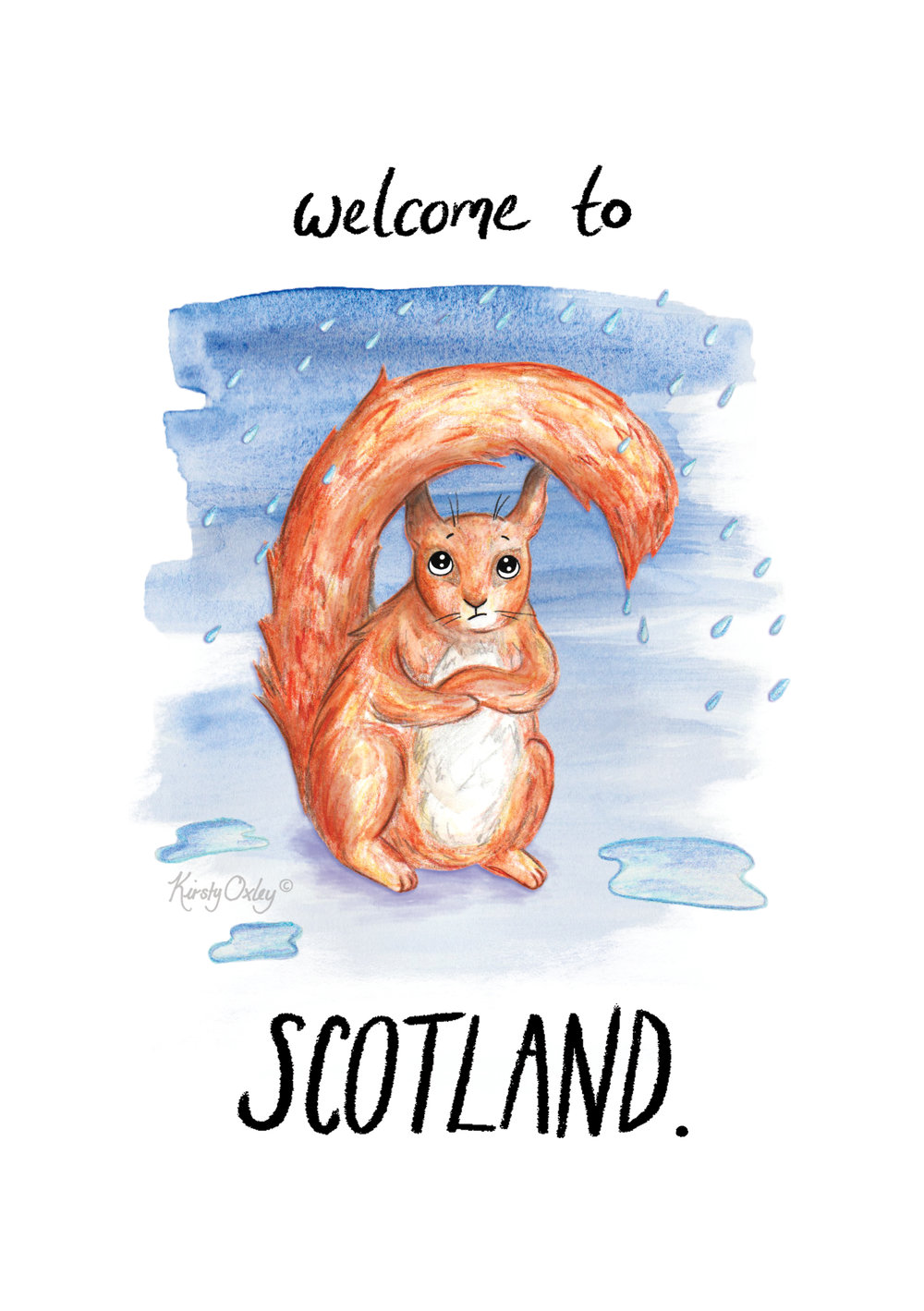 Kirsty Oxley, Welcome To Scotland, drawing.jpg