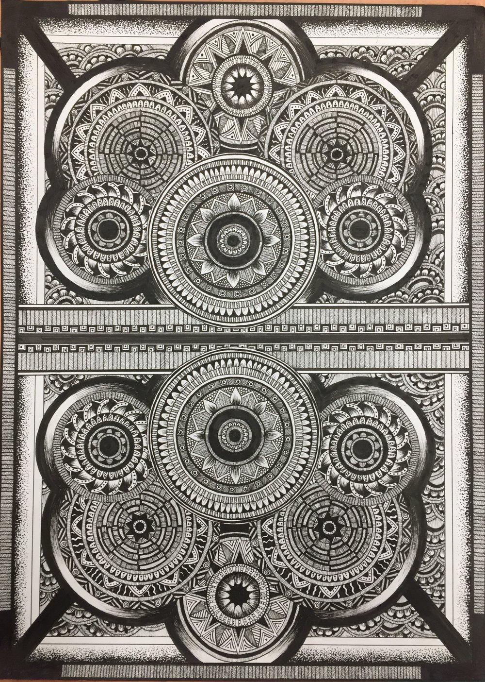 Rowan May, Labyrinth, illustration.JPG