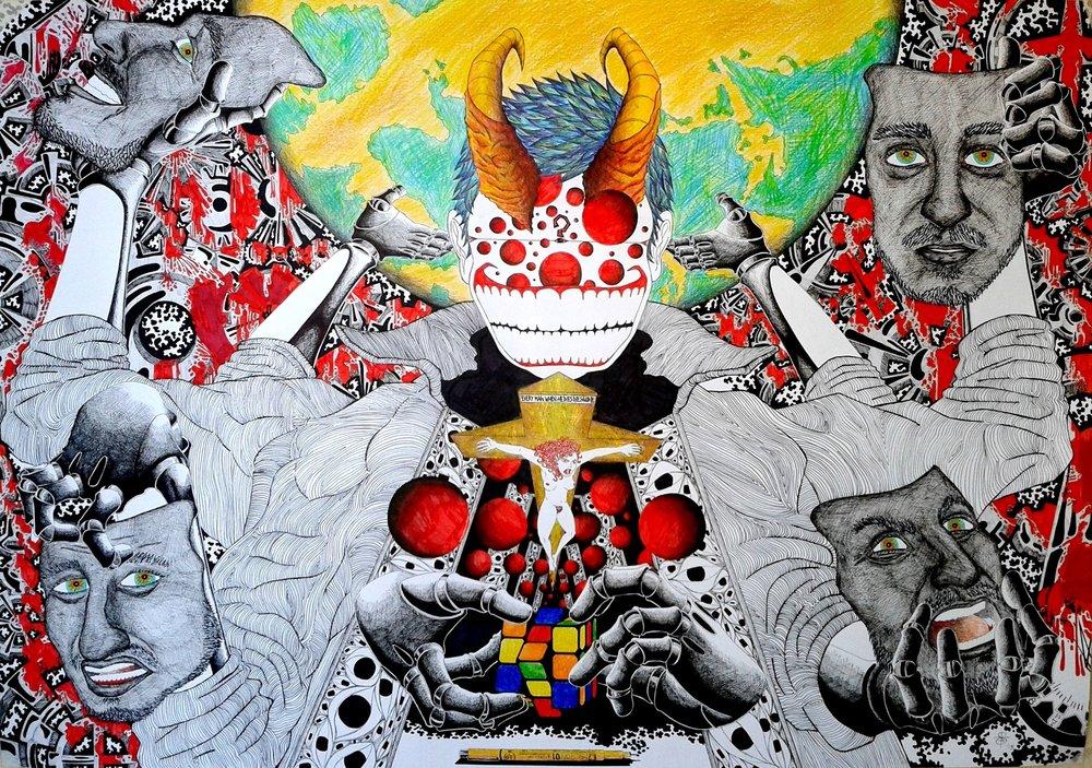 John Doe - Chaos' Diabolic Sneer