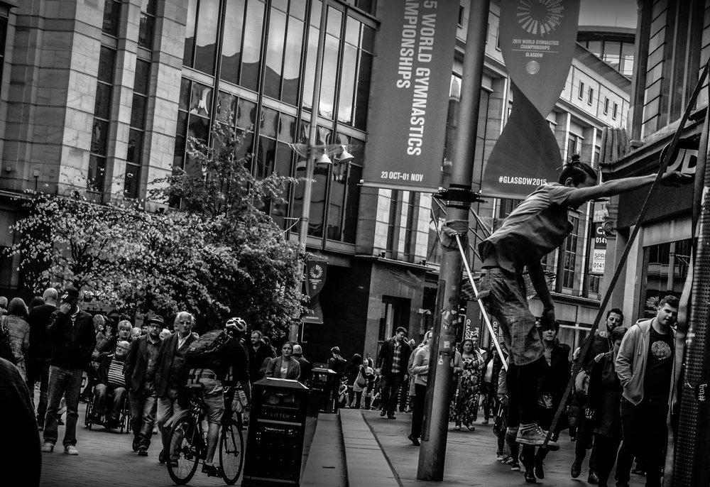 Gerry Peline, Street Gymnastics, poem.jpg