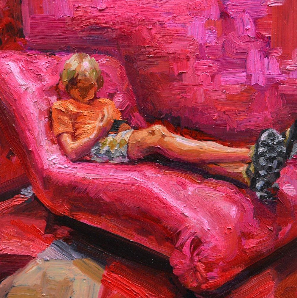 Lana Svirejeva-Hopkins, Madder Rapture, painting.jpg