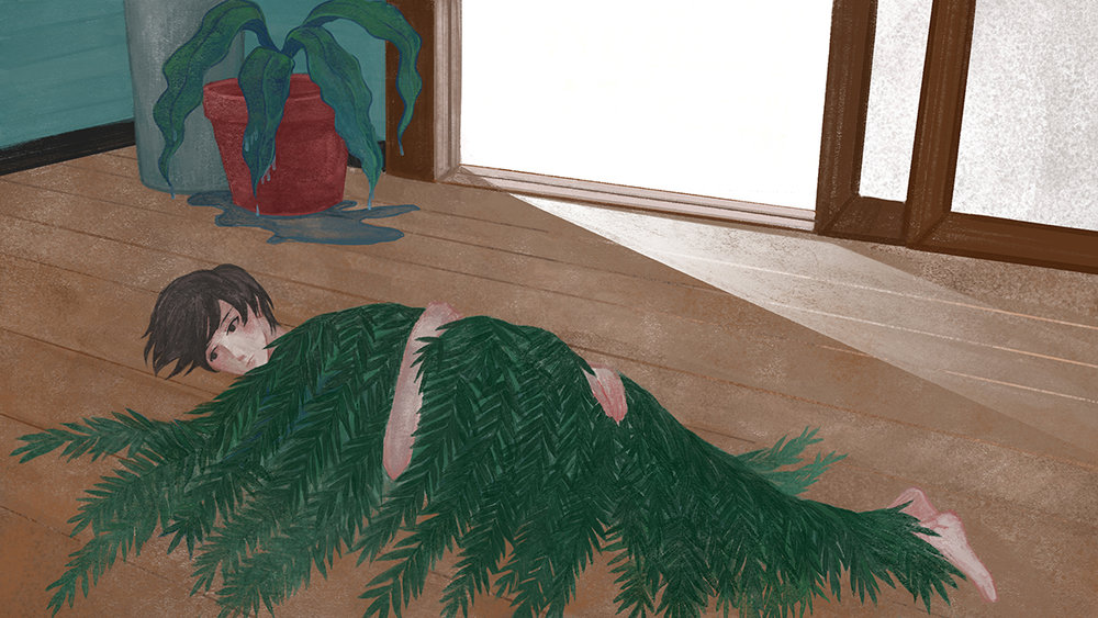 Rei He, Sad Subtropics, painting.jpg
