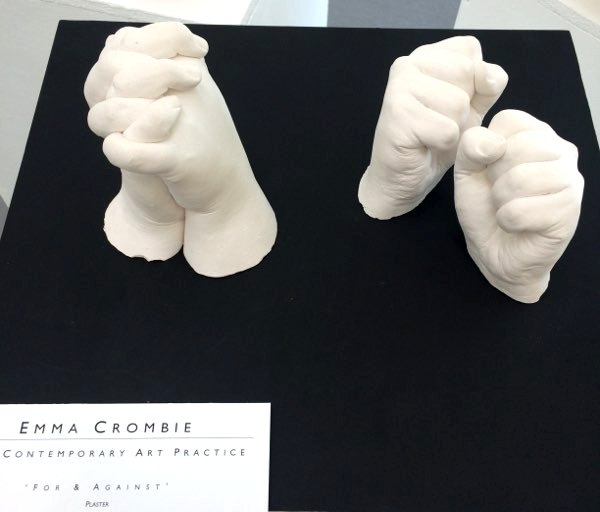 Emma Crombie,  For and Against, sculpture.jpg