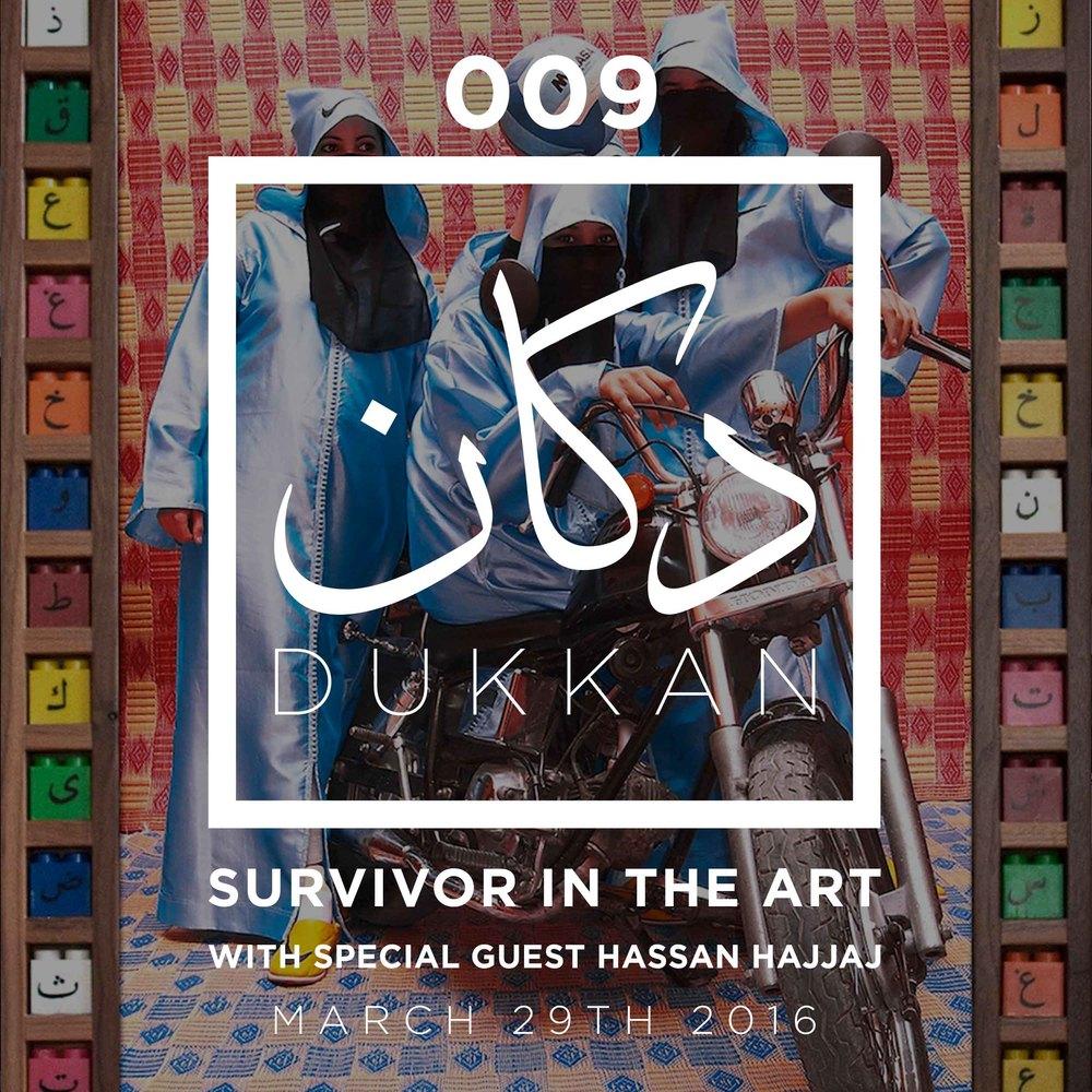 surivor in the art with hassan hajjaj
