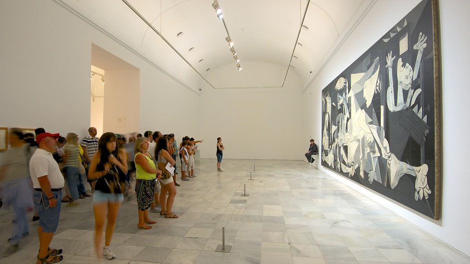 Picasso's Guernica at the Reina Sofia, Madrid.