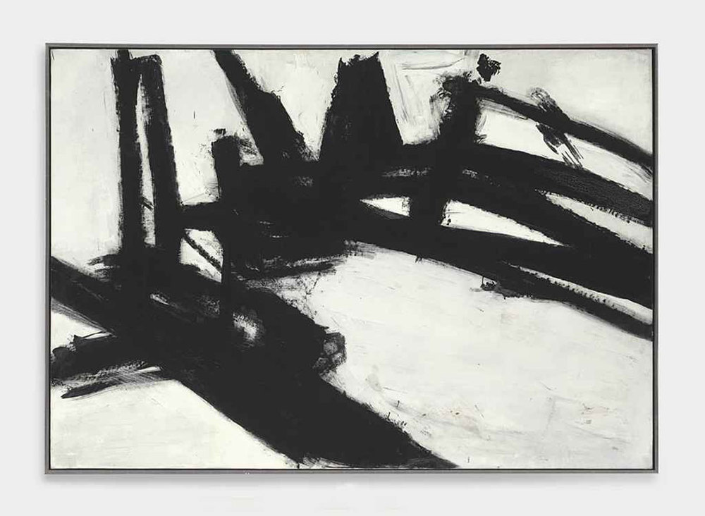 Abstract Expressionism: Franz Kline, 'Untitled', 1957.