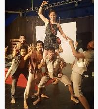 Kirsty at Phare Ponleu Selpak Circus.jpg