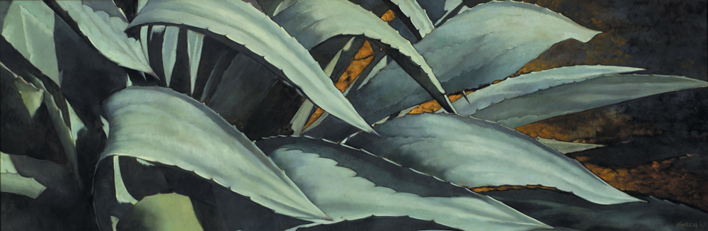 Nature's Rhythm 15x45, oil on canvas, sold.