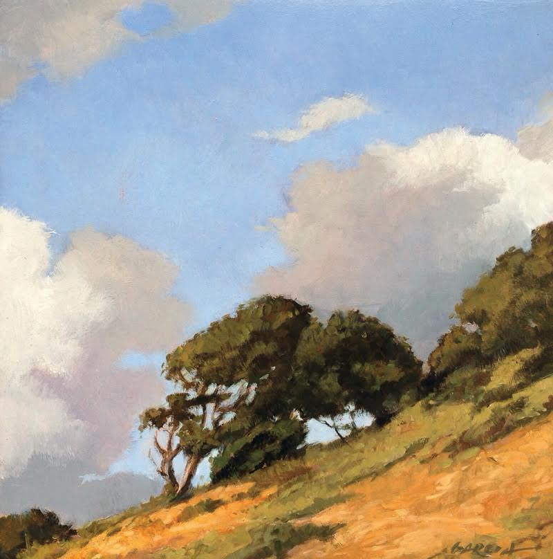 Off Jalama Road, 8 x 8, oil on board. Contact  Waterhouse Gallery   SOLD