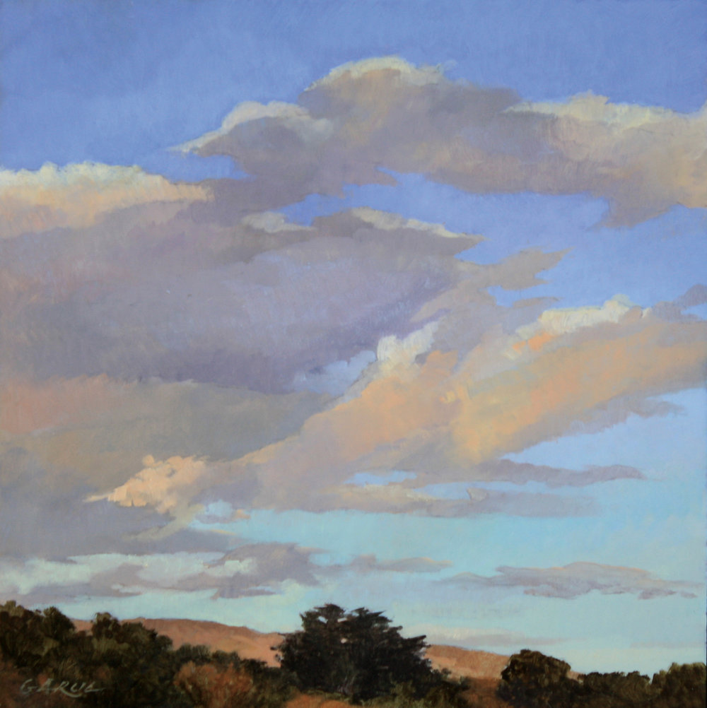 Sheffield Skies, 12 x 12, oil on board. Contact  Tartaglia Fine Art   SOLD