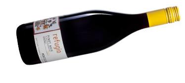 Biodynamic Pinot sold at Nourish